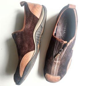 Merrell Barrado Slip On Sport Shoe Coffee Bean 9.5